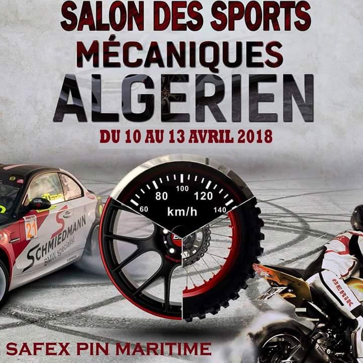 Salon des sports mécaniques algérien 2018