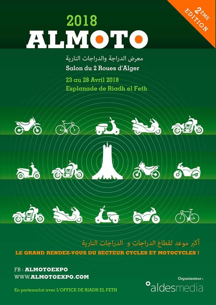 ALMOTO 2018 - Salon du 2 roues d'Alger