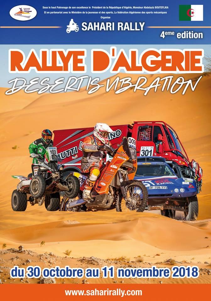 Sahari Rallye 2018