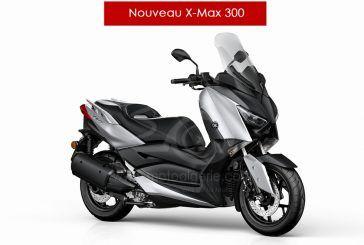 Présentation du nouveau Yamaha X-MAX 300