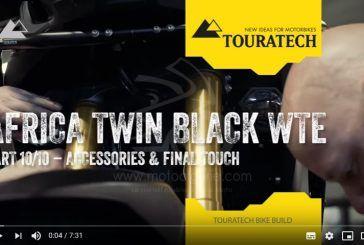 [Vidéo 10/10] Touratech équipe entièrement une Honda Africa Twin CRF1000 pour le voyage