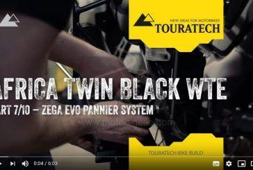 [Vidéo 7/10] Touratech équipe entièrement une Honda Africa Twin CRF1000 pour le voyage