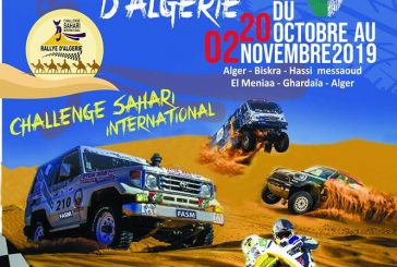 Challenge Sahari Rally 2019