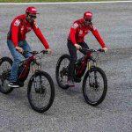 Andrea Dovizioso et Danilo Petrucci testent le nouveau Ducati MIG-RR