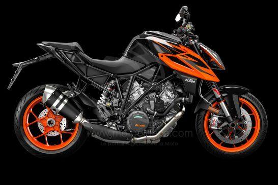 245747_1290 SuperDuke R MY19 Black-Orange 90-Right