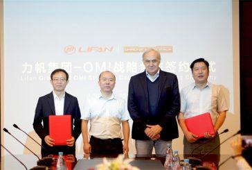 Accord de coopération stratégique signé entre LIFAN et OMI