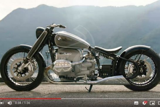 Présentation du Concept BMW Motorrad R18 - YouTube