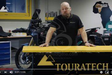 [Vidéo 1/10] Touratech équipe entièrement une Honda Africa Twin CRF1000 pour le voyage