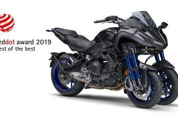 Yamaha NIKEN remporte le prix «Best of the Best» du célèbre Red Dot Design Award 2019