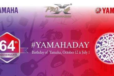 ProX4 célèbre le 64eme anniversaire de Yamaha