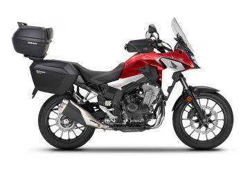 SHAD : Évadez-vous cet été avec votre Honda CB500X, avec un plus grand espace de rangement
