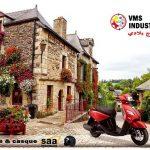 VMS Industrie annonce la disponibilité de son petit scooter urbain JOC-i