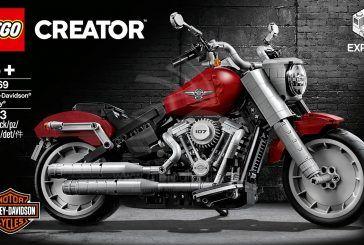 LEGO lance le modèle Harley-Davidson Fat Boy