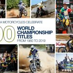HUSQVARNA MOTORCYCLES CÉLÈBRE 100 TITRES DE CHAMPIONNAT DU MONDE