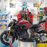 La MV Agusta Brutale 1000 Série Oro entre en production