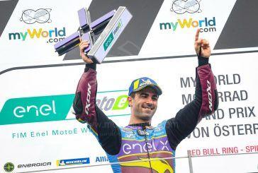 MotoE : Di Meglio triomphe et vire en tête de la Coupe
