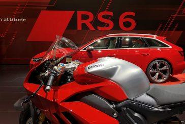 La Ducati Panigale V4 R au Salon international de l'automobile de Francfort