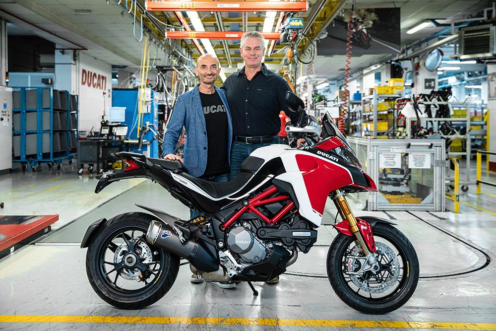 Ducati franchit la barre des 100.000 exemplaires de Multistrada