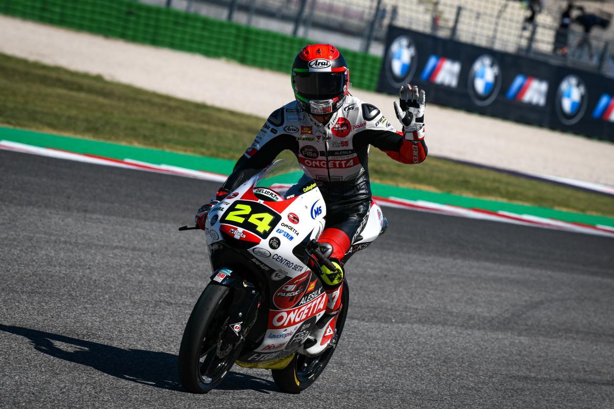 Moto3 – Misano : première pole pour Suzuki