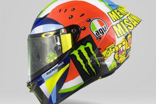 Rossi dévoile un casque spécial pour Misano 2019 2
