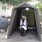 SOMATEC : Un abri moto pratique, pour toutes saisons