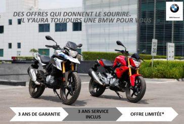 Algérie Motors : Promotion sur les BMW G310r et G310GS