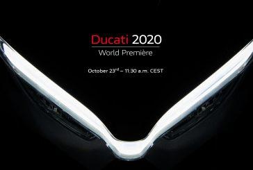 Ducati World Première 2020 : le 23 octobre à 11:30