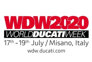 Les dates de la World Ducati Week 2020 sont annoncées