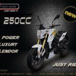 AS Motors se lance dans la moto à vitesses et dévoile sa nouvelle C8 250cc