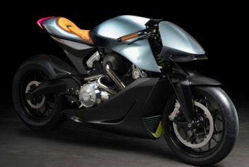 Aston Martin et Brough Superior dévoilent une moto de piste suralimenté