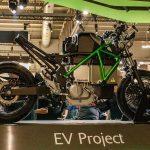 """Kawasaki dévoile un concept électrique MidSize """"EV Project"""""""