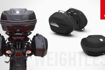 GIVI : Nouvelles valises WL900 et WL901 WEIGHTLESS