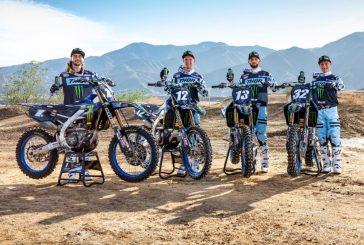 Monster Energy Star Yamaha Racing annonce son équipe Supercross 2020