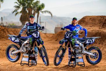 Monster Energy Yamaha Factory Racing Team : Justin Barcia et Aaron Plessinger sont de retour en 2020