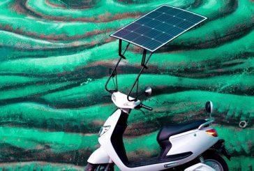 Motosola a une approche originale pour recharger la batterie de votre moto électrique