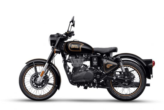 Royal Enfield Classic 500 Tribute Black Limited Edition 0