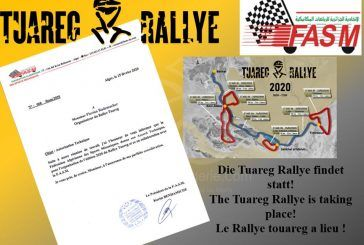 Tuareg Rallye 2020 : La FASM donne son accord technique !