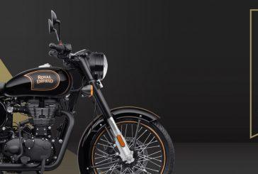 Royal Enfield Classic 500 Tribute Black : Une moto commémorative en édition limitée