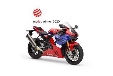 La Honda CBR1000RR-R Fireblade SP reçoit le prix « Red Dot 2020 »