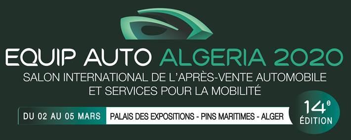 Equip-Auto 2020: ouverture à Alger de la 14e édition avec la participation de 150 entreprises