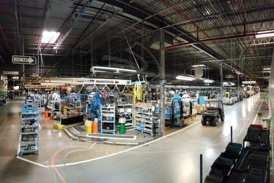 Kawasaki - L'usine Lincoln