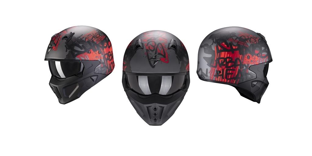 Scorpion dévoile le nouveau casque COVERT-X