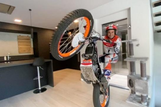 Toni Bou Trial at Home - Coronavirus