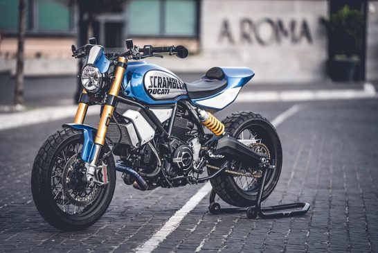 Custom Rumble 2020 - Scrambler 1100 FT by Marco Graziani of CC Racing Garage 3