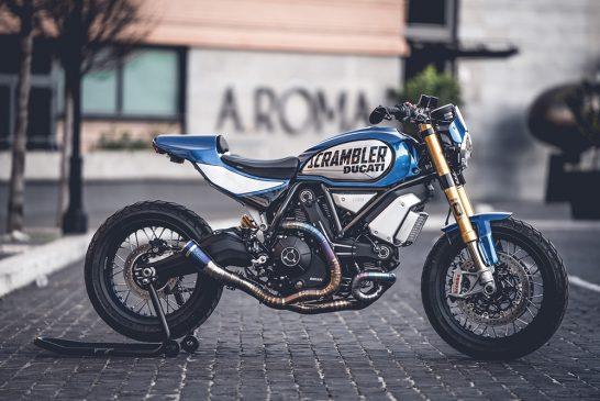 Custom Rumble 2020 - Scrambler 1100 FT by Marco Graziani of CC Racing Garage