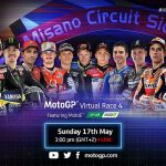 MotoGP : Le MotoE se joint à la Virtual Race !