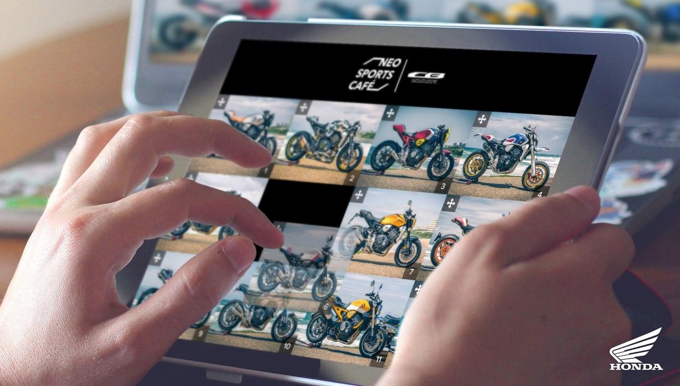 HONDA CUSTOMS : Une nouvelle page web pour départager les plus belles préparations de CB1000R