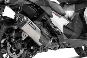 AKRAPOVIC ALGÉRIE : Slip-On Line Titanium pour BMW C400X et C400GT !