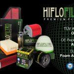 Sidi Achour Motos Pièces propose la gamme de filtres à AIR et à Huile,HifloFiltro, à partir de 1.350 da