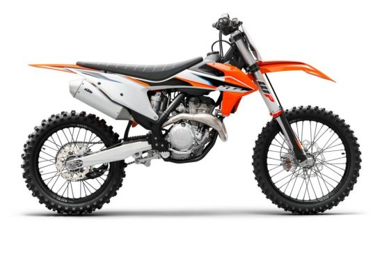 KTM 350 SX-F 2021 Studio